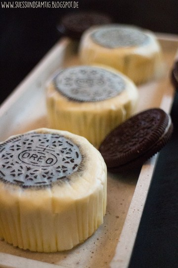 Rezept Mini Oreo New York Cheesecakes