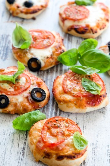 Rezept Mini Pizza