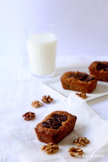 Rezept Mini Plum Cakes mit Feigen und Walnüssen