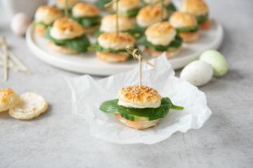 Rezept Mini-Räucherlachs-Burger