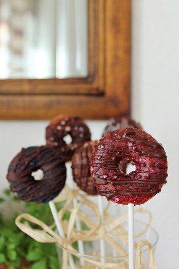 Rezept Mini Schoko-Donuts