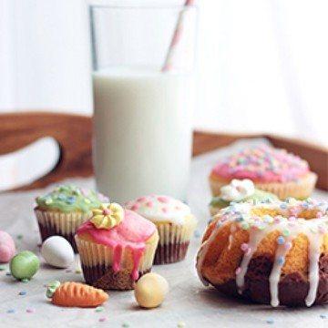 Rezept Mini-Schoko-Eierlikör-Muffins