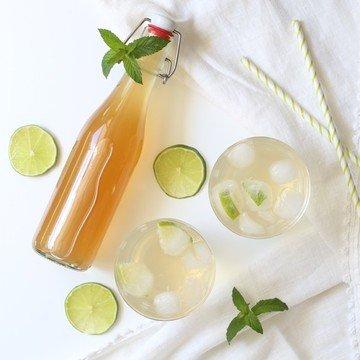 Rezept Minze Limetten Sirup
