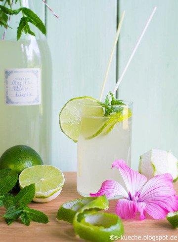 Rezept Minze-Limettensirup