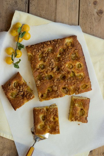 Rezept Mirabellenkuchen mit Amarettini