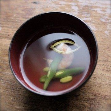 Rezept Miso-Shiru und Ebi-Suimono