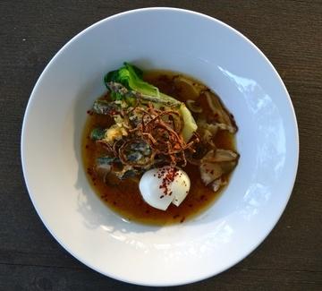 Rezept Misosuppe mit Pak Choi & Spargeltempura