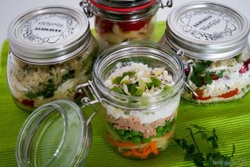 Rezept Mittagessen im Glas - die Alternative zur Kantine