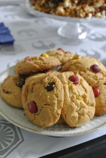 Rezept M&M´s Cookies