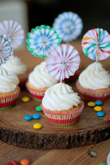 Rezept M&M's Cupcakes mit Marshmallow Fluff Creme