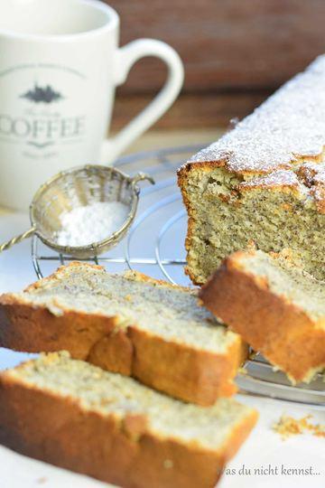 Rezept Mohnkuchen mit Orange