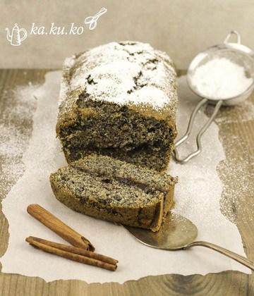 Rezept Mohnkuchen mit Rum-Powidl Fülle