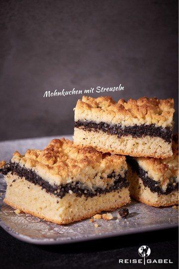 Rezept Mohnkuchen mit Streuseln