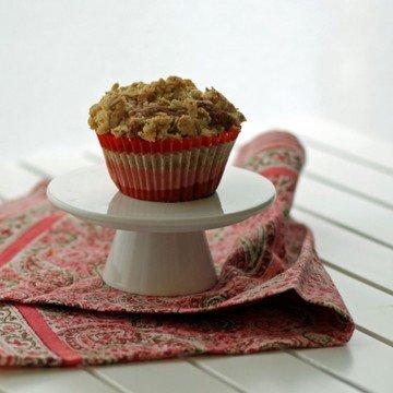 Rezept Möhren Muffins mit Streusel