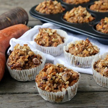 Rezept Möhren Muffins