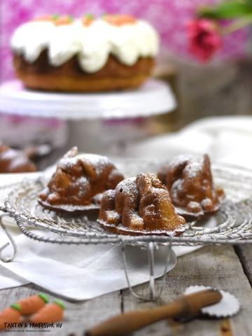 Rezept Möhrenkuchen in Hasenform