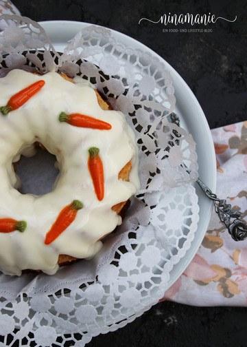 Rezept Möhrenkuchen / Rüblikuchen aka Carrot Cake