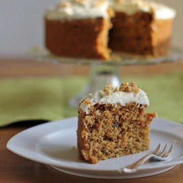 Rezept Möhrentorte mit Cheesecake Icing