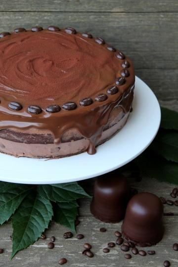 Rezept Mokka-Schokokuss-Torte