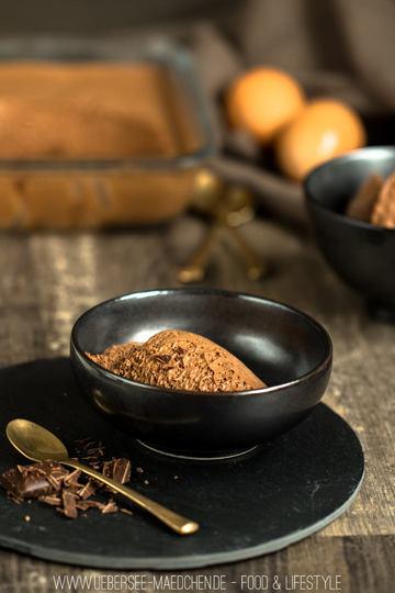 Rezept Mousse au chocolat mit Zartbitterschokolade
