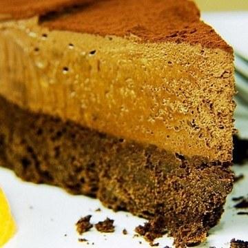 Rezept Mousse au Chocolat-Torte