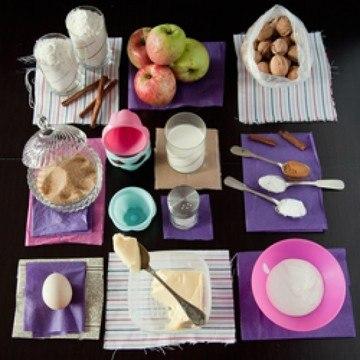 Rezept Muffins mit Apfel und Zimt