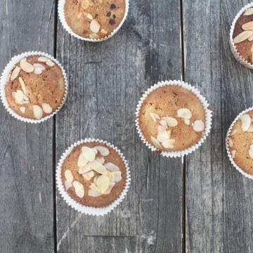 Rezept Muffins mit Rhabarber-Kompott
