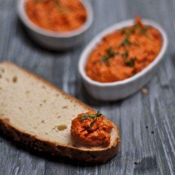 Rezept Muhamara - Dip aus gerösteter roter Paprika