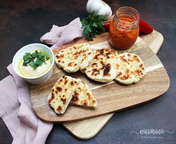 Rezept Muhammara, Hummus und Naan – orientalische Aromaküche