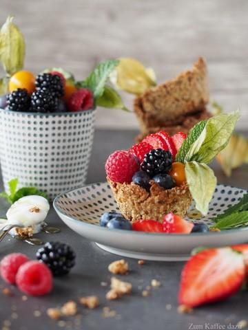 Rezept Müsli-Schälchen mit Joghurt und Obst