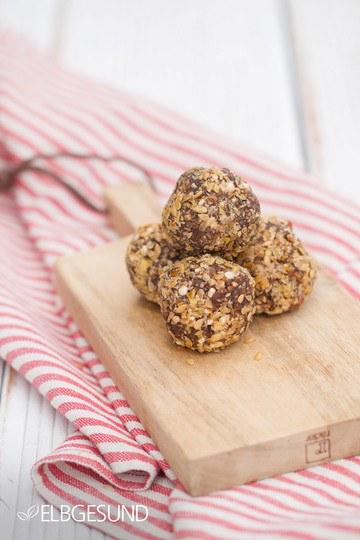 Rezept Naschen erlaubt – Quinoa-Glückskugeln