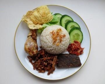 Rezept Nasi Uduk, Herzhafter Reis im Kokosmilch