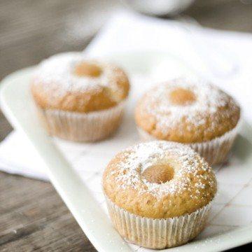 Rezept Nektarinen-Lavendel-Muffins