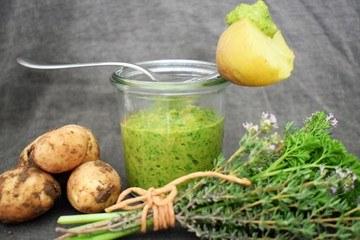 Rezept Neue Kartoffeln mit Salsa Verde