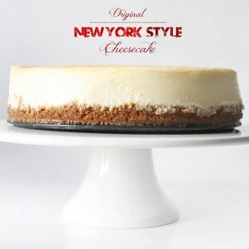 Rezept New York Style Cheesecake