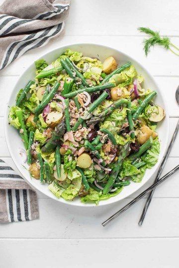 Rezept Nizza-Salat (Salade Niçoise) mit Räucherlachs