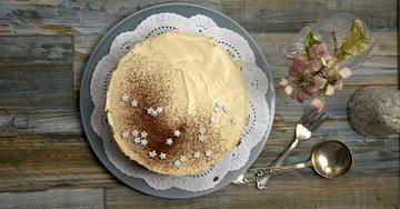 Rezept No Bake Coffee Cheesecake