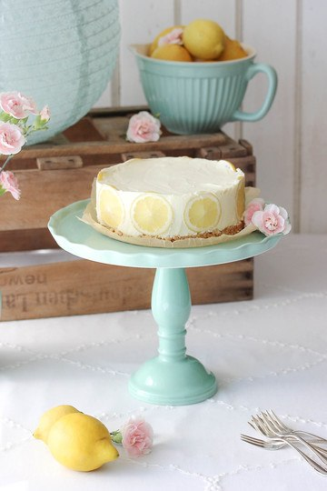 Rezept No bake Lemon Cheesecake