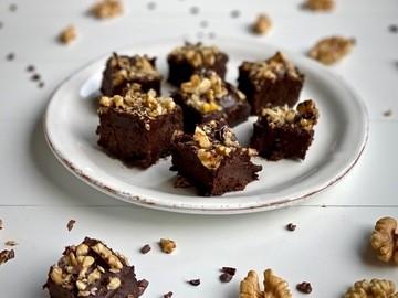 Rezept No Bake No Sugar Brownies
