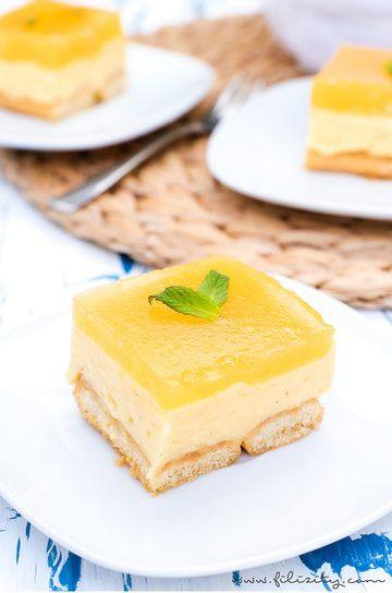 Rezept No Bake Pfirsich-Vanille-Torte