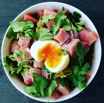 Rezept Noodlesoup mit Thunfisch
