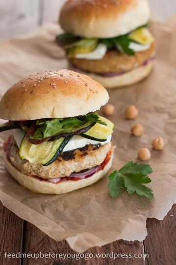 Rezept North African-style Burger mit Couscous- oder Hühnchenpatty