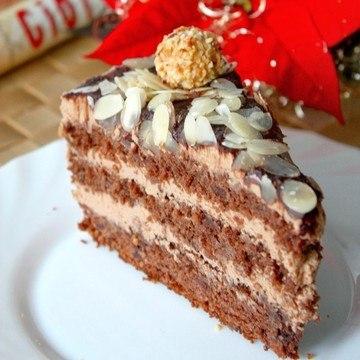 Rezept Nougat Giotto Torte
