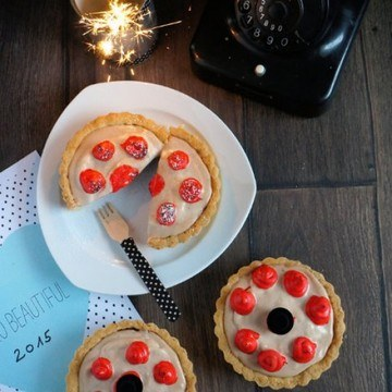 Rezept Nougat-Kirsch-Tartelettes