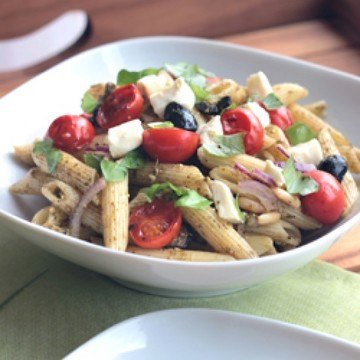 Rezept Nudel-Pesto-Salat