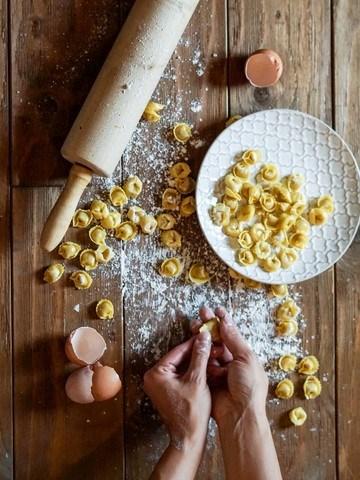 Rezept Nudeln selber machen – Ravioli aus Dinkelmehl mit leckerer Füllung