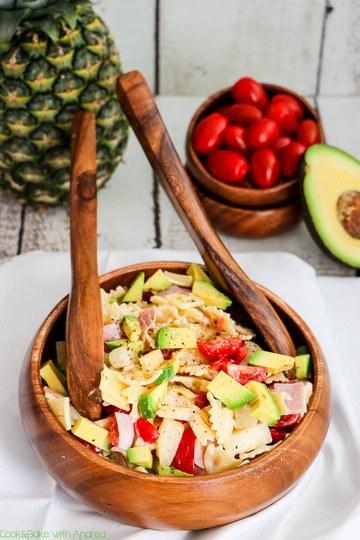 Rezept Nudelsalat á la Hawaii