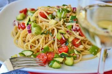 Rezept Nudelsalat mit Gemüse