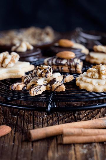 Rezept Nuss-Marzipan-Plätzchen