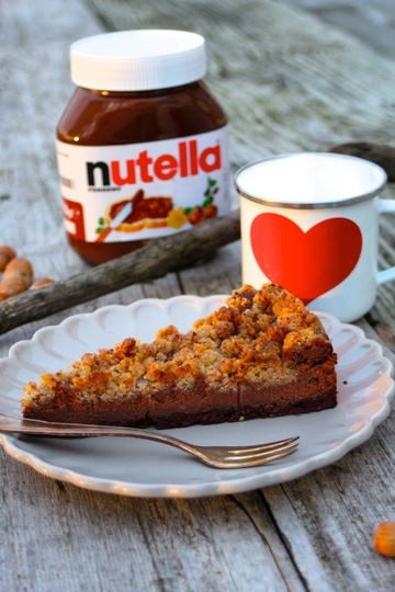 Rezept Nutella-Cheesecake